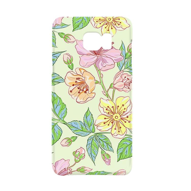 Premiumcaseid Beautiful Flower Wallpaper Hardcover Casing for Samsung Galaxy Note 5