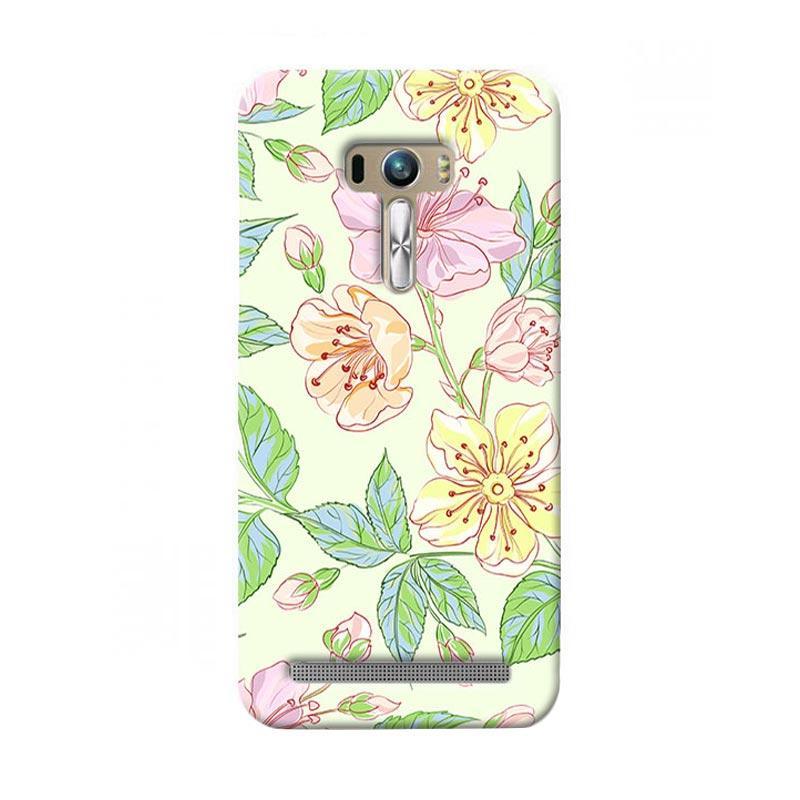 Premiumcaseid Beautiful Flower Wallpaper Hardcase Casing for Asus Zenfone Selfie