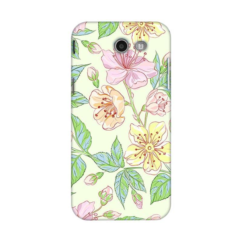 Premiumcaseid Beautiful Flower Wallpaper Hardcase Casing for Samsung J3 2017