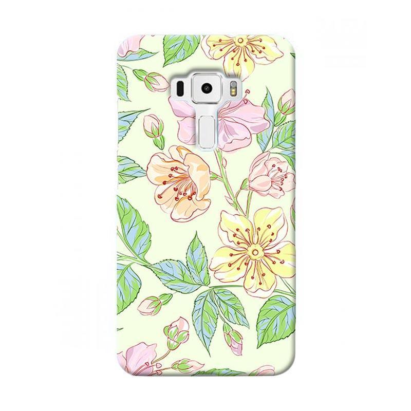 Premiumcaseid Beautiful Flower Wallpaper Hardcase Casing for Asus Zenfone 3