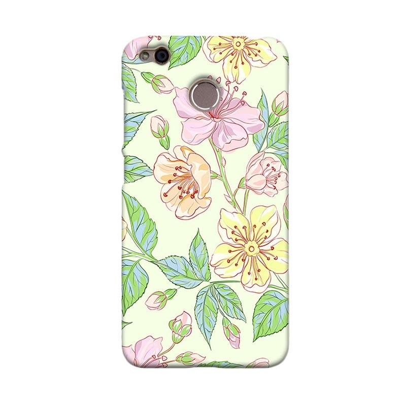 Premiumcaseid Beautiful Flower Wallpaper Hardcase Casing for Xiaomi Redmi 4X