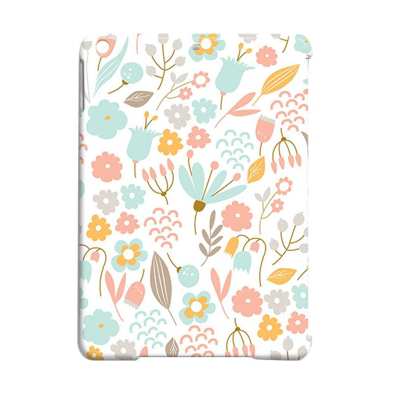 Premiumcaseid Cute Pastel Shabby Chic Floral Hardcase Casing for iPad Air