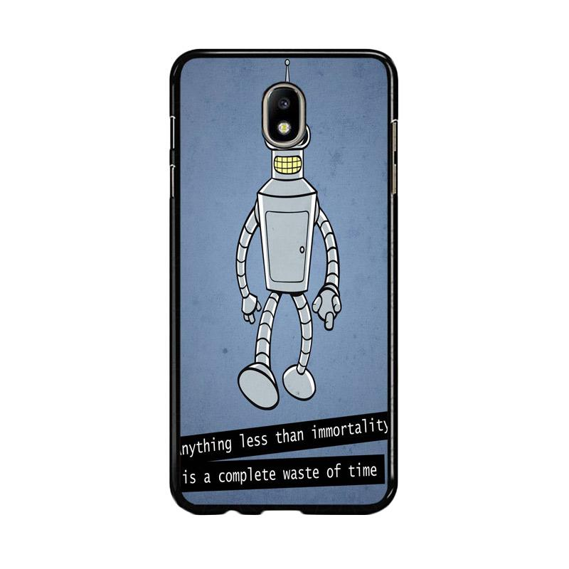 Flazzstore New Rare Futurama Bender Z0942 Custom Casing for Samsung Galaxy J5 Pro 2017
