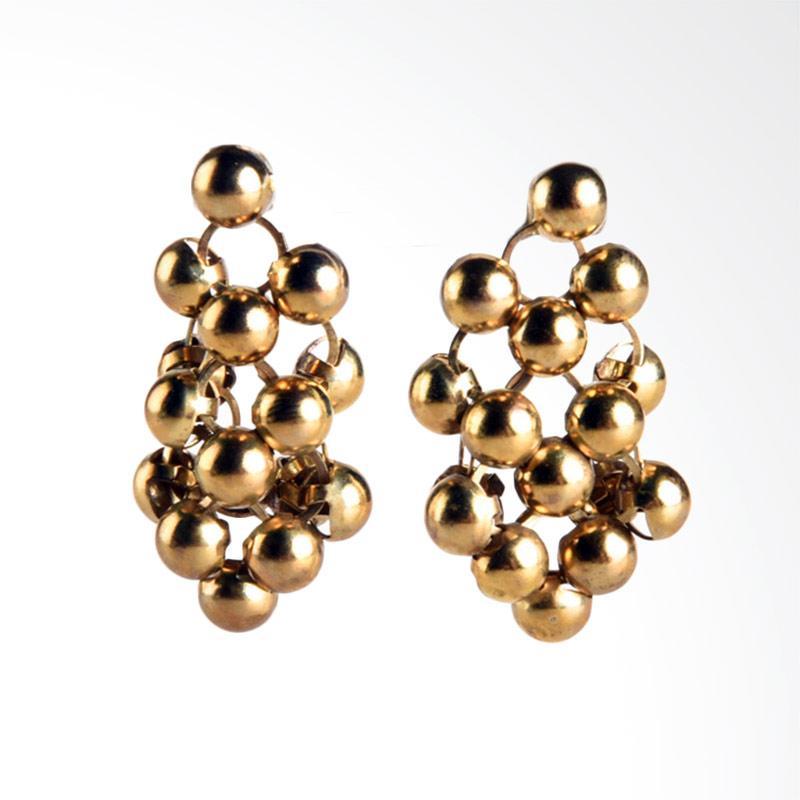 1901 Jewelry Pearly 5002 GW.5002.HR52 Giwang Women Earrings - Gold