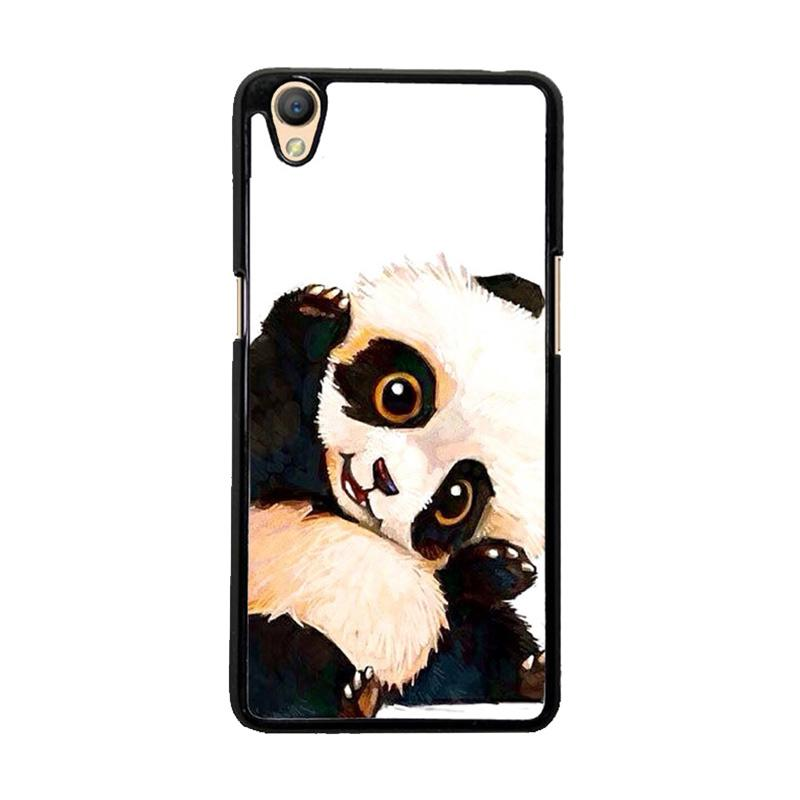 Flazzstore Panda Paint O0435 Custom Casing for Oppo Neo 9 or A37