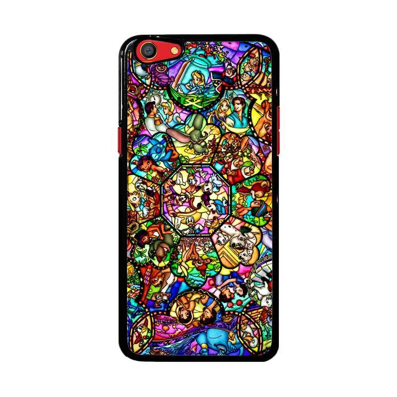 Flazzstore All Disney Heroes Stained Glass Z1417 Custom Casing for Oppo F3