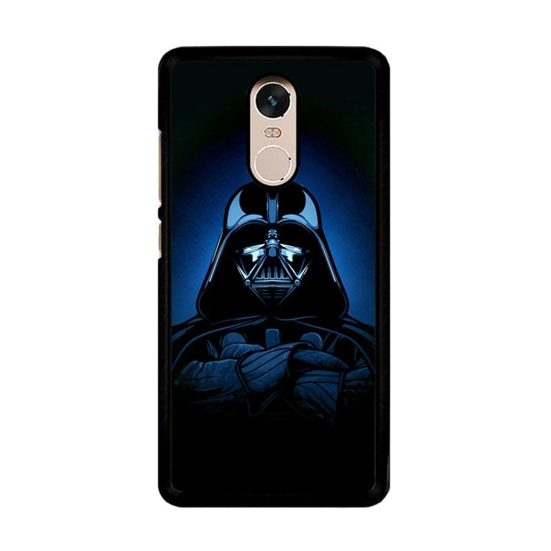 Flazzstore Darth Vader O0158 Custom Casing for Xiaomi Redmi Note 4 or Note 4X Snapdragon Mediatek