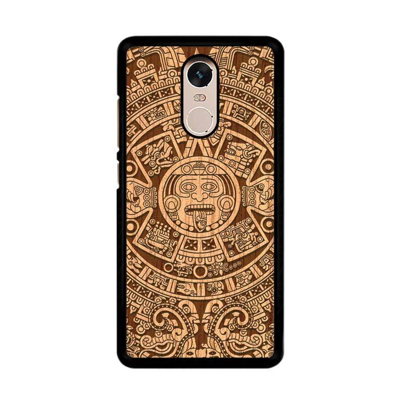Flazzstore Mayan Calender F0202 Custom Casing for Xiaomi Redmi Note 4 or Note 4X Snapdragon Mediatek