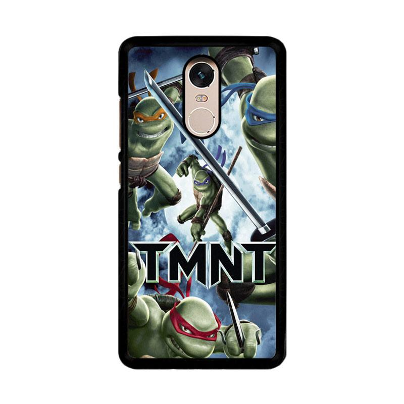 Flazzstore Tmnt Teenage Mutant Ninja Turtle Z0654 Custom Casing for Xiaomi Redmi Note 4 or Note 4X Snapdragon Mediatek
