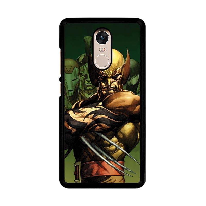 Flazzstore Dark Wolverine X-Man And Friend F0376 Custom Casing for Xiaomi Redmi Note 4 or Note 4X Snapdragon Mediatek