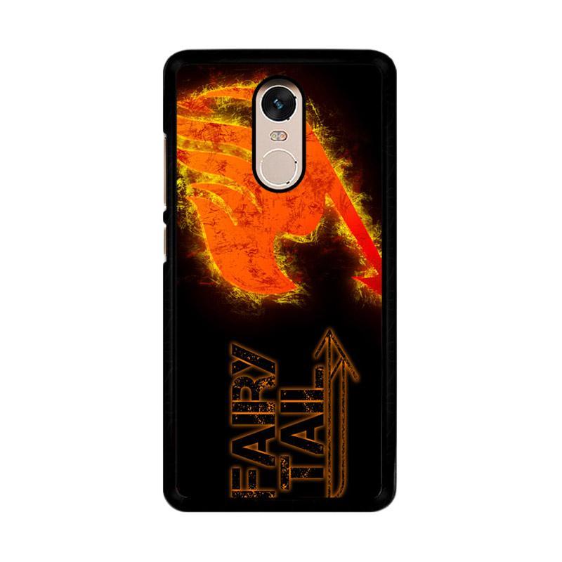Flazzstore Fairy Tail Logo F0409 Custom Casing for Xiaomi Redmi Note 4 or Note 4X Snapdragon Mediatek