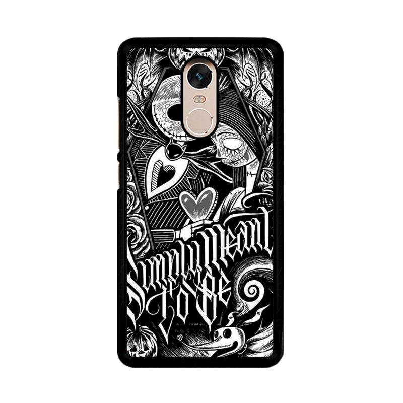 Flazzstore Jack And Sally Muertitos The Nightmare Before Christmas F0874 Custom Casing for Xiaomi Redmi Note 4 or Note 4X Snapdragon Mediatek