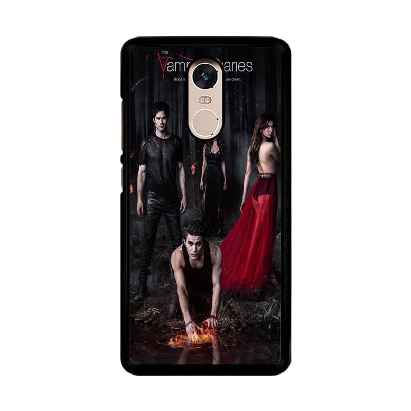 Flazzstore Vampire Diaries Season 5 Posters Z0151 Custom Casing for Xiaomi Redmi Note 4 or Note 4X Snapdragon Mediatek