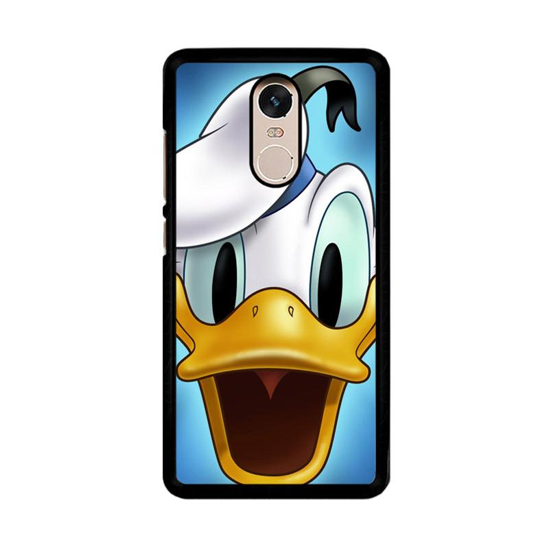 Flazzstore Donald Duck Z0168 Custom Casing for Xiaomi Redmi Note 4 or Note 4X Snapdragon Mediatek