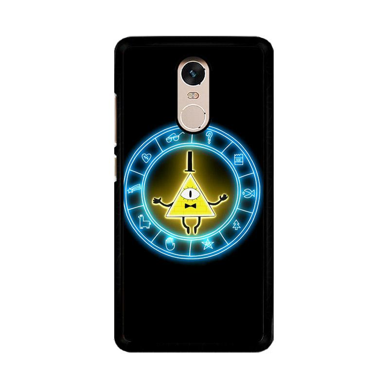 Flazzstore Gravity Falls Geometric Z0188 Custom Casing for Xiaomi Redmi Note 4 or Note 4X Snapdragon Mediatek