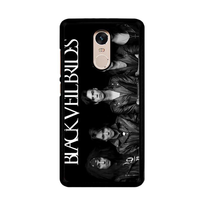Flazzstore Black Veil Brides Z0231 Custom Casing for Xiaomi Redmi Note 4 or Note 4X Snapdragon Mediatek