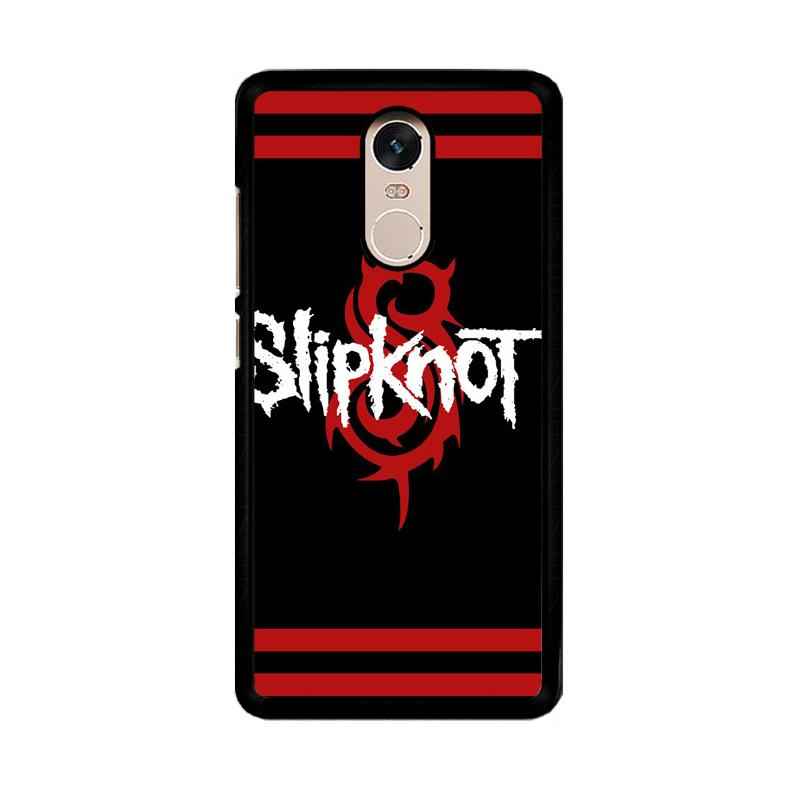 Flazzstore Slipknot Rock Band Z0370 Custom Casing for Xiaomi Redmi Note 4 or Note 4X Snapdragon Mediatek