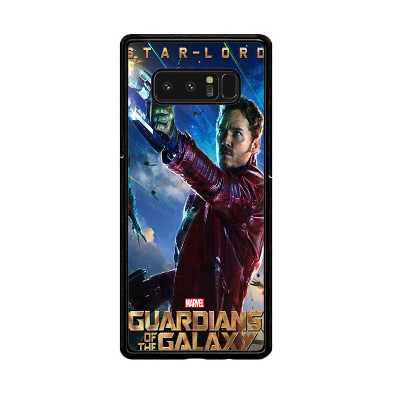 Flazzstore Guardians Of The Galaxy Star Lord  Z0691 Custom Casing for Samsung Galaxy Note8