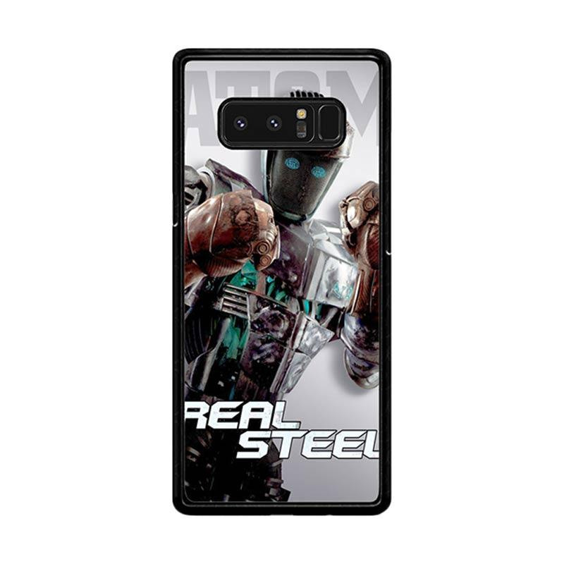 Flazzstore Atom Real Steel Z0717 Custom Casing for Samsung Galaxy Note8