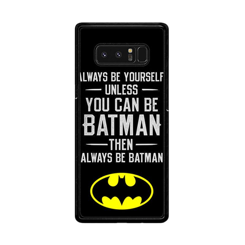 Flazzstore Batman Quote F0320 Custom Casing for Samsung Galaxy Note 8