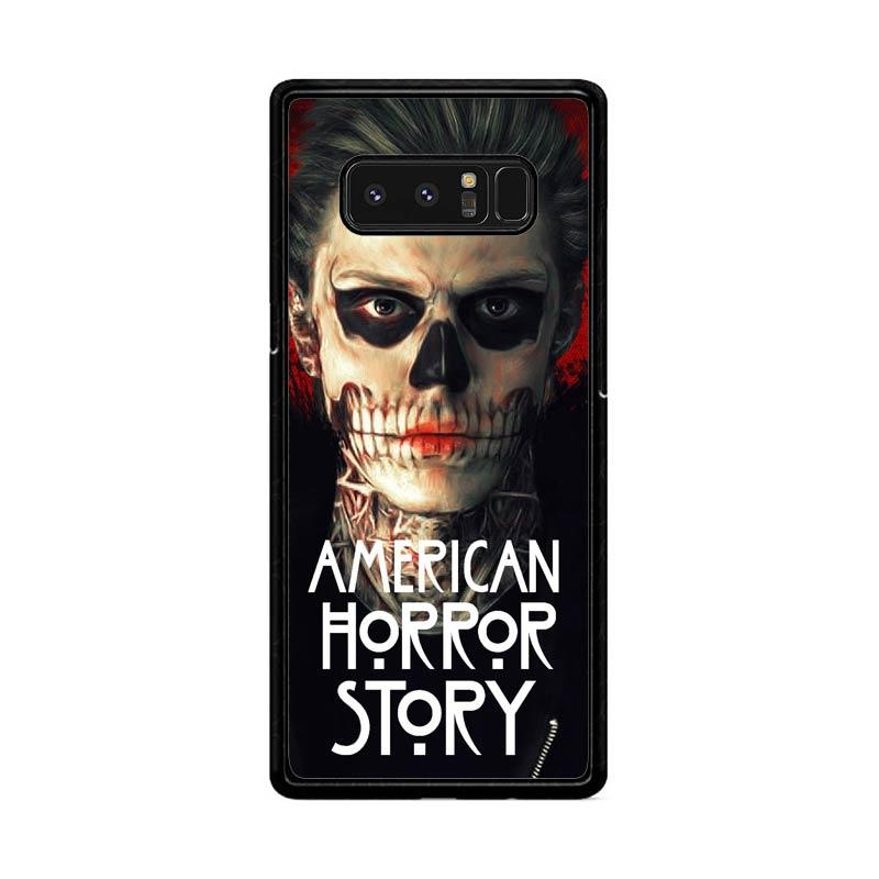 Flazzstore American Horror Story Face F0864 Custom Casing for Samsung Galaxy Note 8