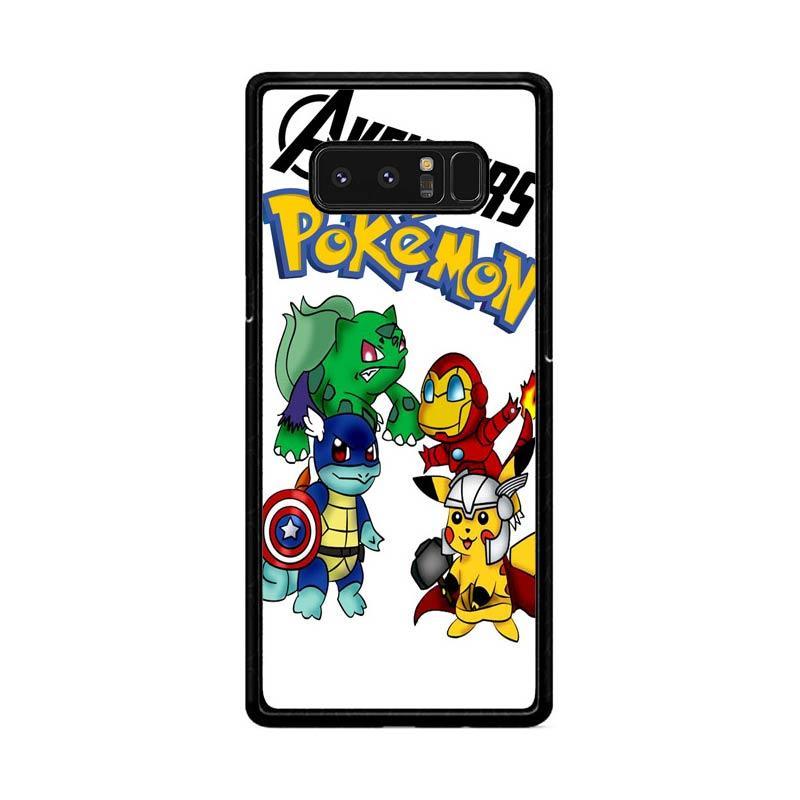 Flazzstore Pokemon Avengers Z0036 Custom Casing for Samsung Galaxy Note8