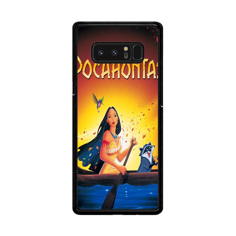 Flazzstore Disney Pocahontas Movie Poster Z0130 Custom Casing for Samsung Galaxy Note8