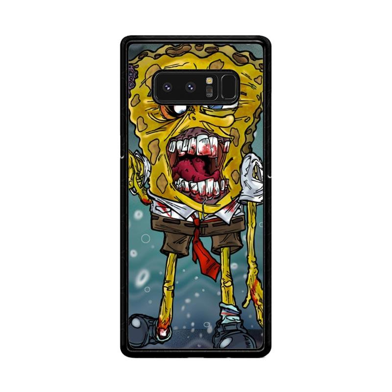Flazzstore Zombie Sponge Bob Z0217 Custom Casing for Samsung Galaxy Note8
