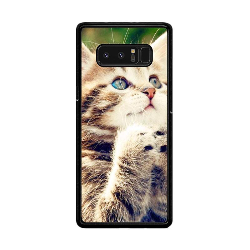 Flazzstore Prayer Cat Z0249 Custom Casing for Samsung Galaxy Note8