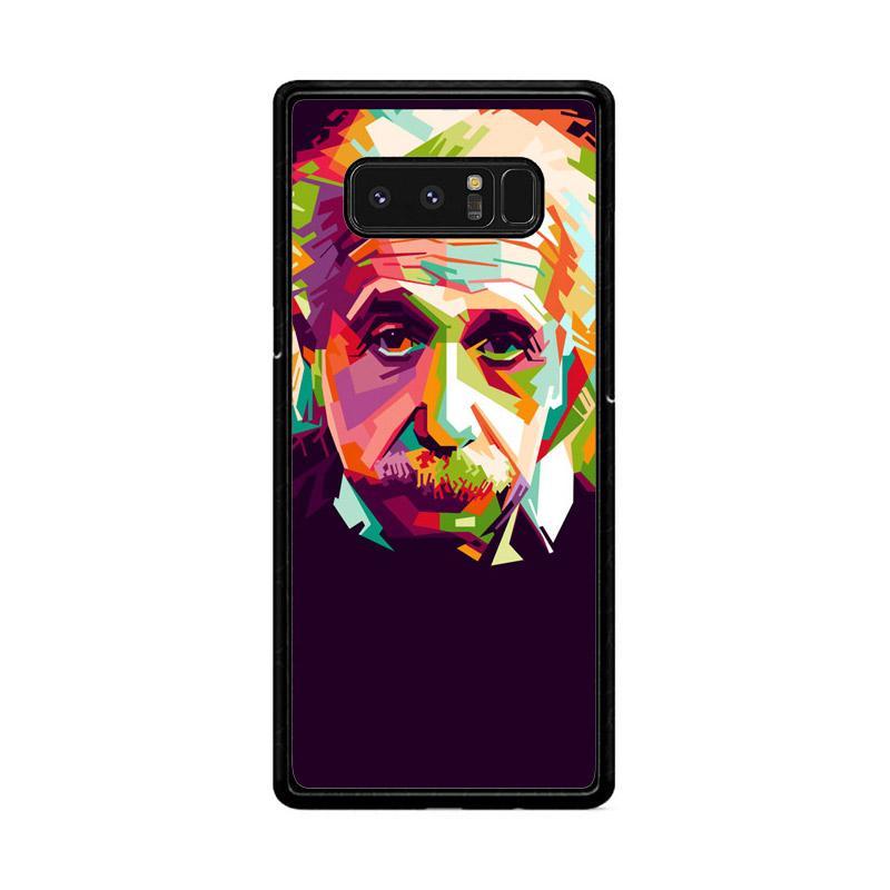 Flazzstore Albert Einstein In Wpap Art Z0318 Custom Casing for Samsung Galaxy Note 8