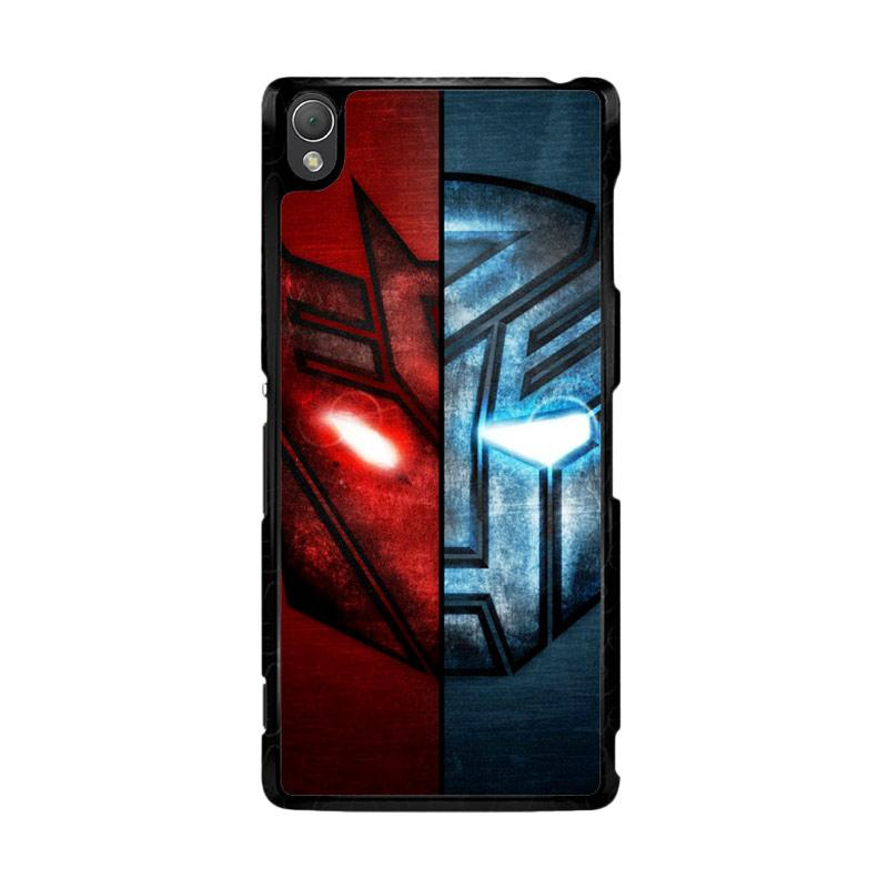 Flazzstore Transformer 2 Face Of Autobots Decepticons Z0298 Custom Casing for Sony Xperia Z3