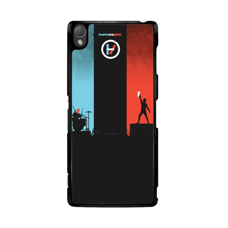 Flazzstore Twenty One Pilots Red And Blue Z0984 Custom Casing for Sony Xperia Z3