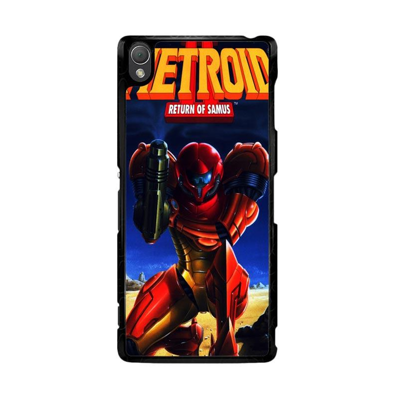 Flazzstore Metroid Video Games Z1109 Custom Casing for Sony Xperia Z3