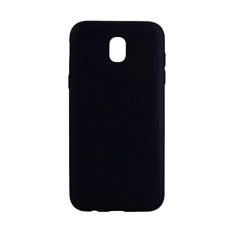 Lize Design Case Slim Anti Glare Silikon Casing for Samsung Galaxy J5 Pro 2017 - Hitam