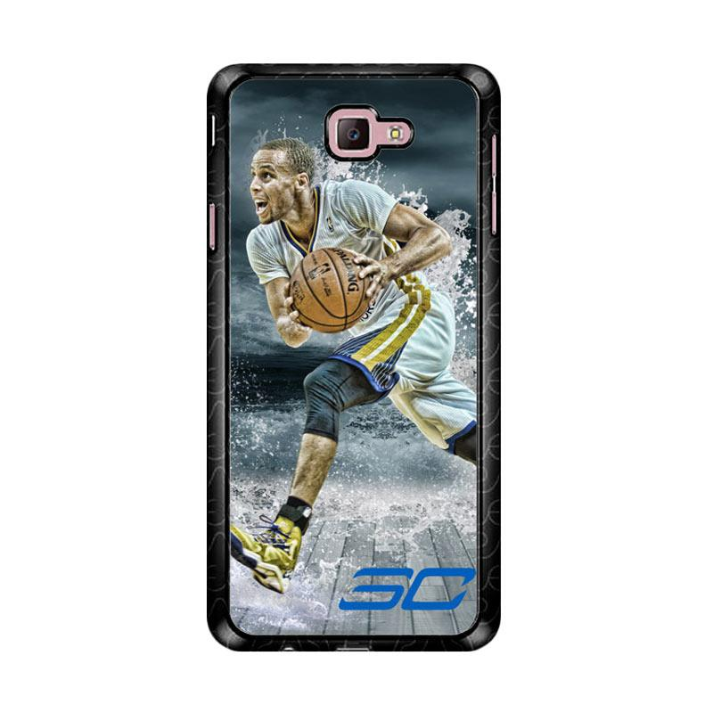 Flazzstore Stephen Curry Water Art Z3892 Custom Casing for Samsung Galaxy J7 Prime