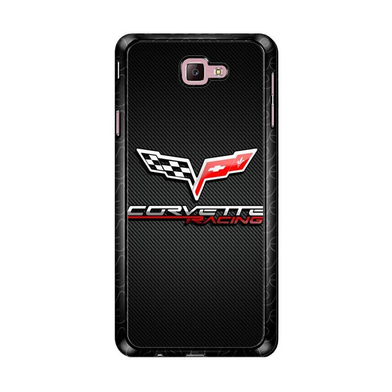Flazzstore Corvette Logo Z4158 Custom Casing for Samsung Galaxy J7 Prime