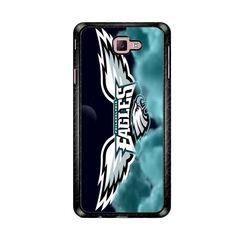 Flazzstore Philadelphia Eagles Logo Z4269 Custom Casing for Samsung Galaxy J7 Prime