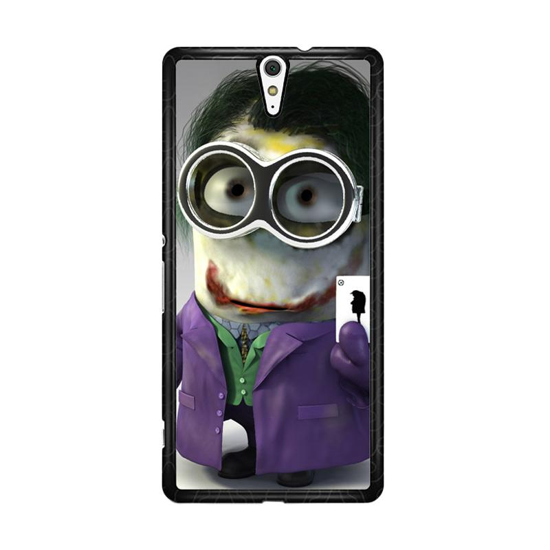 Flazzstore Minion Joker Z1425 Custom Casing for Sony Xperia C5 Ultra