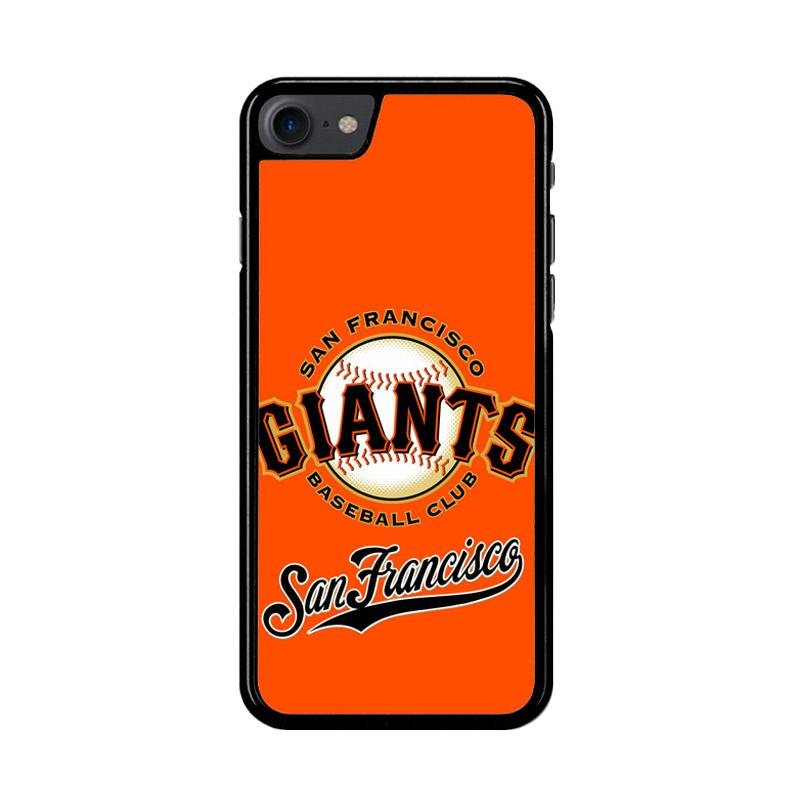 Flazzstore San Francisco Giants Logo Z4063 Custom Casing for iPhone 7 or 8