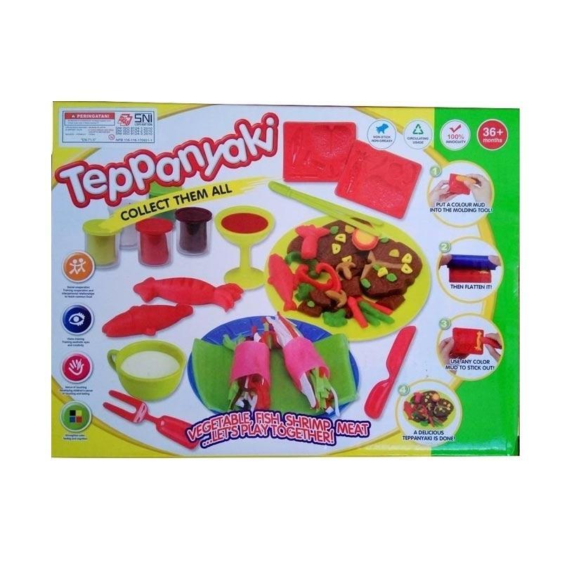 AJA Clay Teppanyaki Mainan Anak