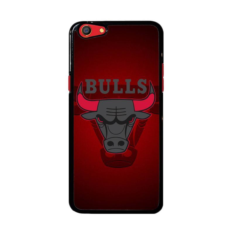 Flazzstore Chicago Bulls Logo Z3338 Custom Casing for Oppo F3
