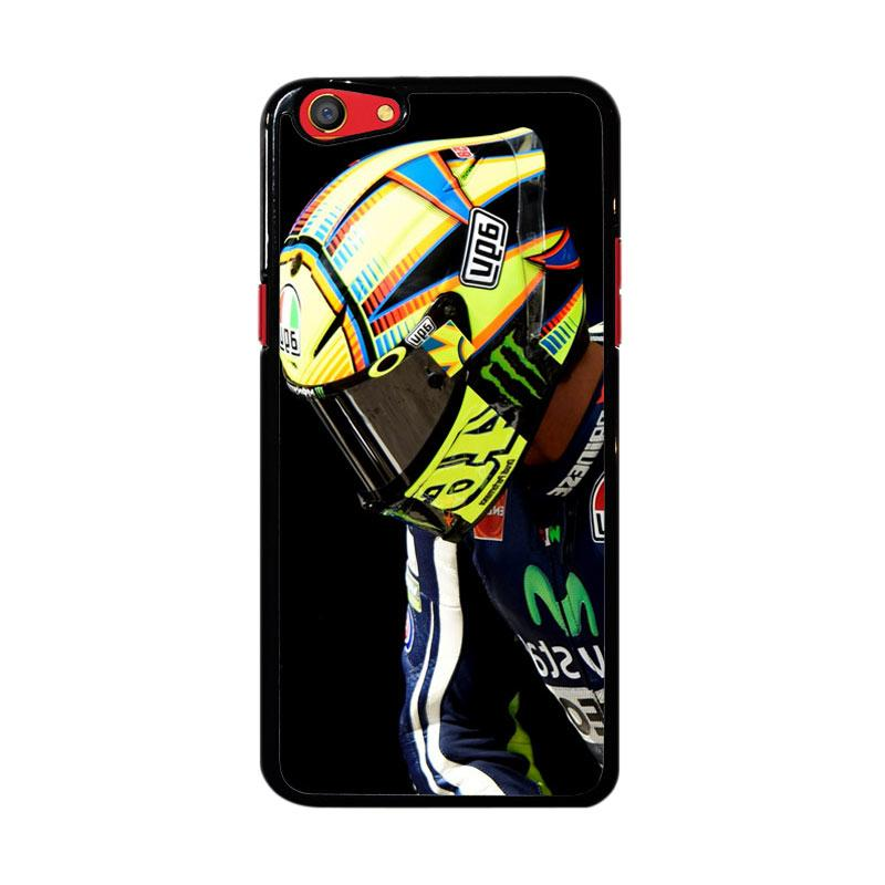 Flazzstore Valentino Rossi Helmet Z4343 Custom Casing for Oppo F3