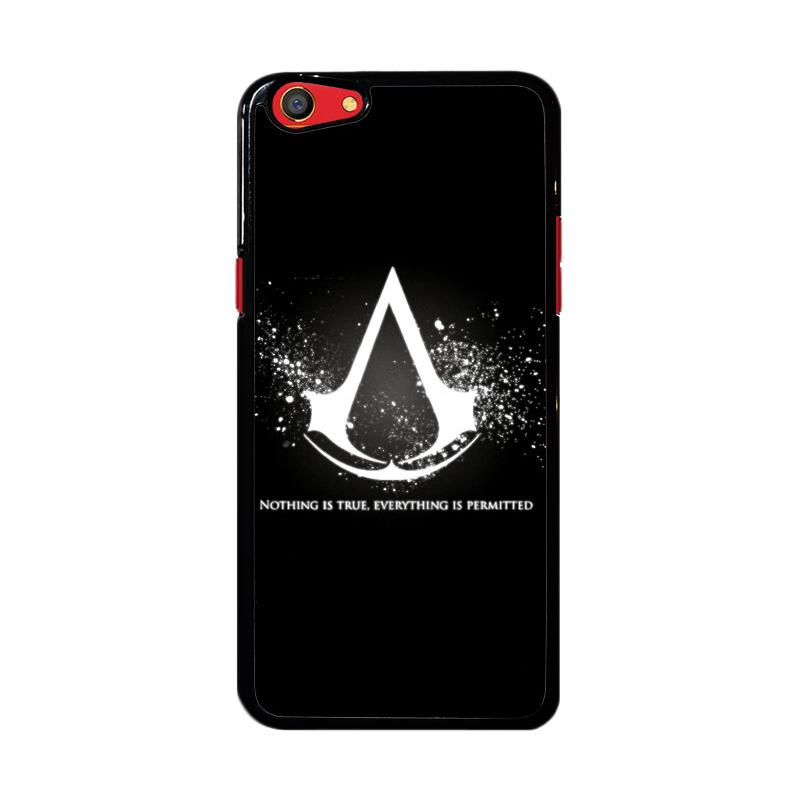 Flazzstore Assassins Creed Symbol Glow Z4434 Custom Casing for Oppo F3