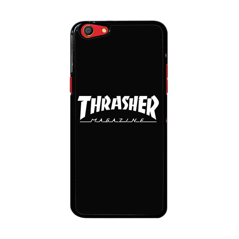 Flazzstore Thrasher Magazine Skate Z4741 Custom Casing for Oppo F3