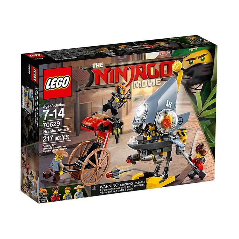 LEGO The Ninjago Movie 70629 Piranha Attack Blocks & Stacking Toys