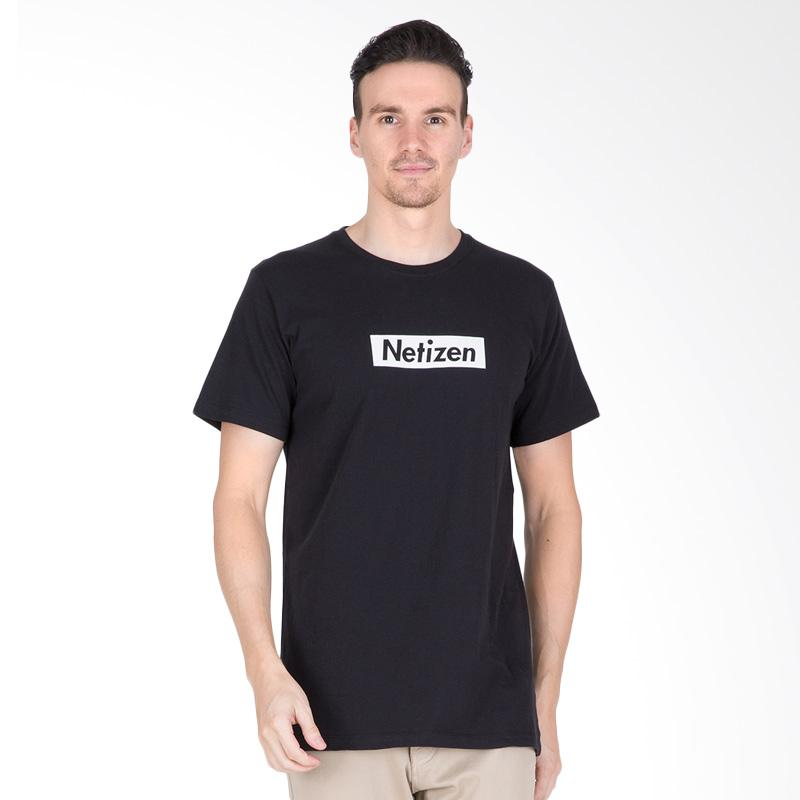 Tendencies Netizen T-Shirt Pria - Black