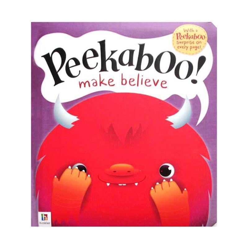 Genius Peekaboo! Make Believe Lift the Flap Book with a Peekaboo Buku Anak