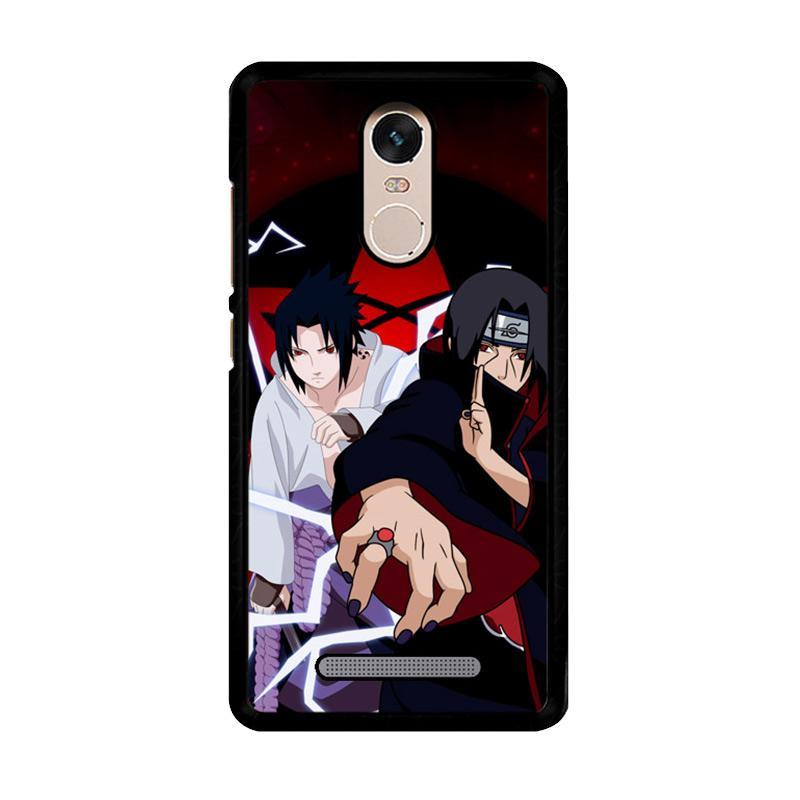 Flazzstore Uchiha Sasuke Uchiha Itachi Z2652 Custom Casing for Xiaomi Redmi Note 3 or Note 3 Pro