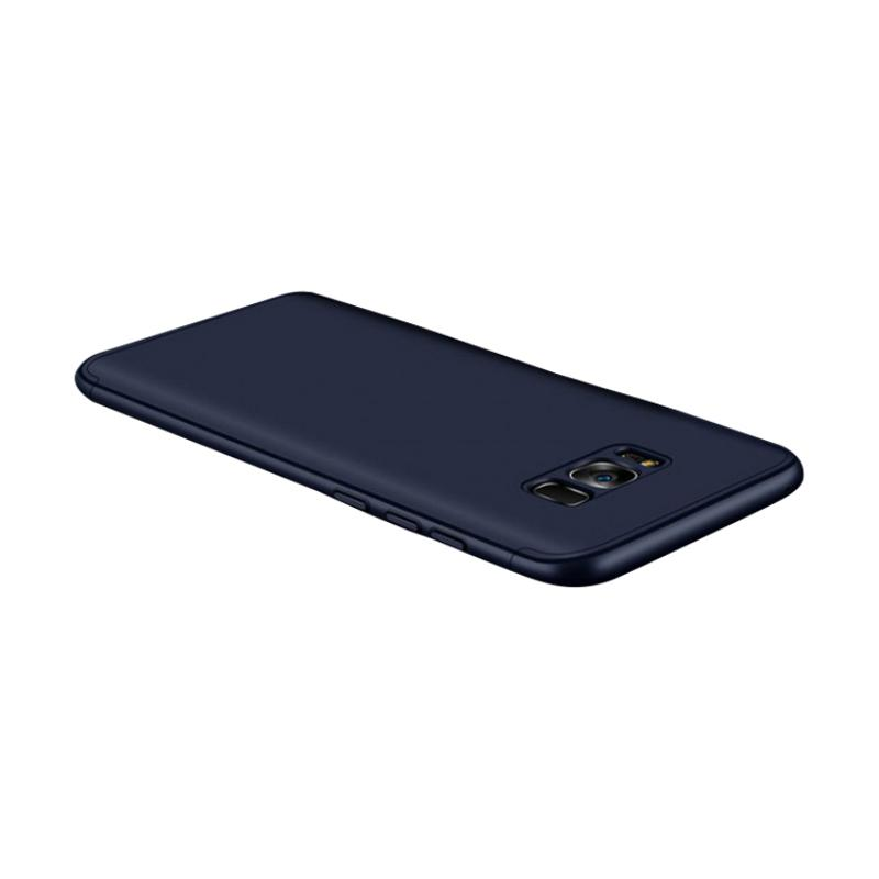 HM 360 Full Protection 3 in 1 Casing for Samsung S8 - Blue Navy