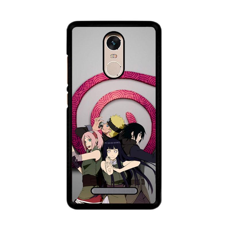 Flazzstore Naruto Family The Last Z3381 Custom Casing for Xiaomi Redmi Note 3 or Note 3 Pro